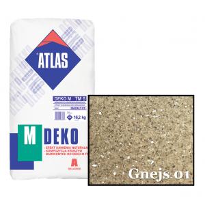 Композиція крихти для мозаїчної штукатурки - ефект GNEJS 01 ATLAS DEKO M ТМ5 16,2кг.