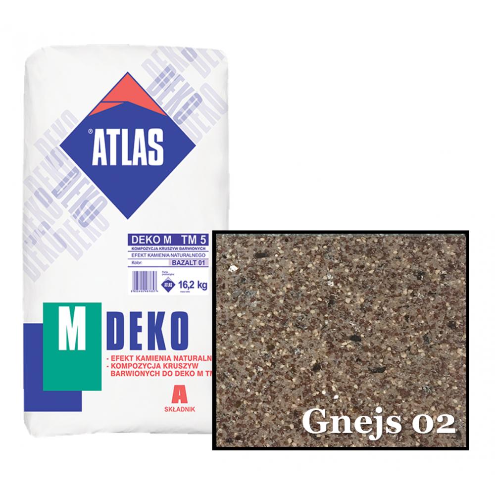 Композиция крошки для мозаичной штукатурки - эффект GNEJS 02 ATLAS DEKO M ТМ5 16,2кг.