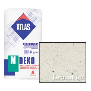 Композиція крихти для мозаїчної штукатурки - ефект GRANIT 02 ATLAS DEKO M ТМ5 16,2кг.