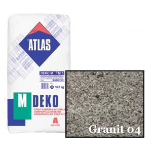 Композиція крихти для мозаїчної штукатурки - ефект GRANIT 04 ATLAS DEKO M ТМ5 16,2кг.