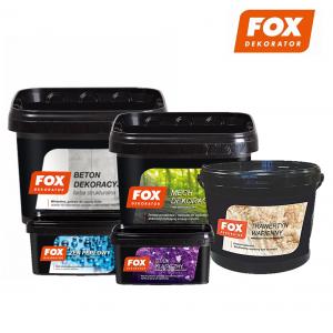 Декоративні штукатурки FOX DEKORATOR